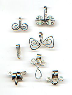 Jewelry Making Tutorials Learn How To Make Jewelry - Beading & Wire Jewelry Classes : Wirework: DIY Bail Tutorial