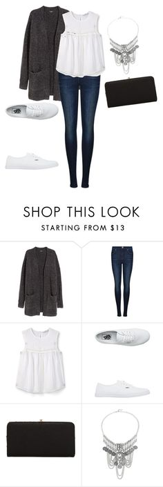"""""""Untitled #15"""" by sarah-mauldin ❤ liked on Polyvore featuring H&M, Dr. Denim, MANGO, Vans and Urban Expressions"""