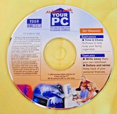 """Software """"At Home with Your PC""""  The step guide to computer confidence"""