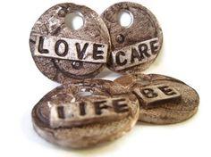 Love Care Life Ornament - Gift Topper