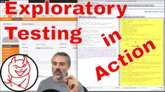 Live Web Exploratory Technical Testing Session Example https://youtu.be/xvUKVpOCqAY