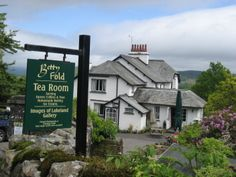 Betty Fold Tearooms - perfect stop off for refreshments walking from Tarn Hows back to Hawkehead