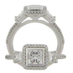 Ritani 1PCZ3747CPCRP: Diamond Engagement Ring