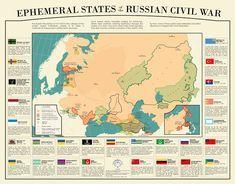 Независимые самопровозглашённые субъекты образовавшиеся во время гражданской войны 1917-1922 и переставшие существовать с образованием СССР. |