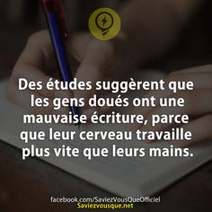 Saviez Vous Que? | Tous les jours, découvrez de nouvelles infos pour briller en société ! True Facts, Funny Facts, Good To Know, Did You Know, Quote Citation, Tumblr Quotes, Info, Things To Know, Words Quotes