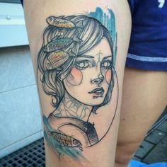 Tattoo artist: @_ankimichler by wowtattoo