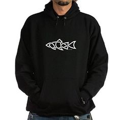 Amazon.com: CafePress Hoodie (dark) - Salmon Celtic Design Hoodie: Clothing