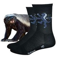 Honey Badger socks are damn tough.