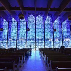 Nosso tour com a Araraúna Receptivo terminou na Paróquia Nossa Senhora de Fátima um lindo templo comarquitetura e design arrebatadores.Goiânia - Goiás - Brasil  City Tour com @araraunaturismoreceptivo - ---- - ---- - #goiania #goiânia #goianiawalk #goianiacity #AraraunaReceptivo #ReceptivoEmGoiás #Travel #BoraViajar #Fun #FicaDica #citytourgoiania #conhecagoiania #blogueirorbbv #azulmagazine #MTur #ViajePeloBrasil #DicasdeDestino #PartiuBrasil #decolar #VoeGOL #travel #LoveTravel #TravelLove…