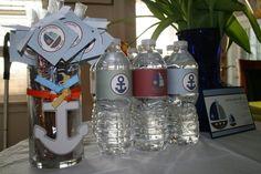 nautical party- ahoy! It's a boy!