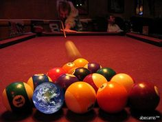 OK, first, how smooth is a billiard ball? According to the World Pool-Billiard Association, a pool ball is inches in diameter, and has . Snooker Pool Table, Pool Table Room, Pool Tables, Billiards Pool, Father's Day Games, Bar Games, Billard Snooker, Bowling Tips