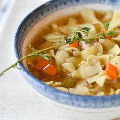 Easy SlowCooker Chicken Noodle Soup