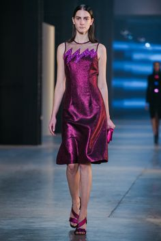 A look from the Christopher Kane Fall 2015 RTW collection.