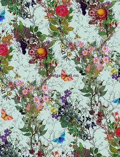 Tapetgalleriet   Tapet fra Timorous Beasties - Bloomsbury Garden