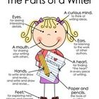 If you enlarge this document, it makes a great poster from which you can launch several writing lessons.  You can refer to it throughout the year a...