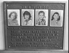 Honoring the four little girls who lost their lives 50 years ago in a church bombing.
