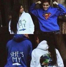 He's mine & she's mine sweatshirts