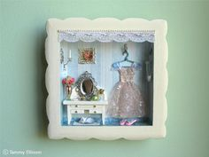 A miniature fairy's room