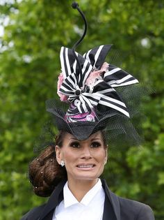 Reason #253839263 why I love British people: they are confident enough to go out in public with headgear like this.