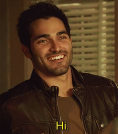 Tyler Hoechlin, Teen Wolf (gif) Excuse me while I wipe the drool off my chin :)