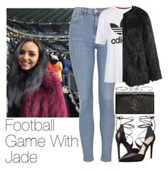 """Football Game With Jade"" by zarryalmighty ❤ liked on Polyvore featuring Topshop, Steve Madden, Yves Saint Laurent, Michael Kors, Cartier, women's clothing, women's fashion, women, female and woman"