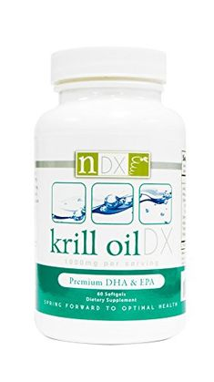 Natural Dynamix Krill Oil DX Fish Oil Supplements, 60 Softgels * Details can be found by clicking on the image.