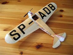 This aircraft paper model is a PWS-50, a prototype Polish single-engine mid-wing monoplane sports aircraft of 1930,the papercraft is created by CardPlane,