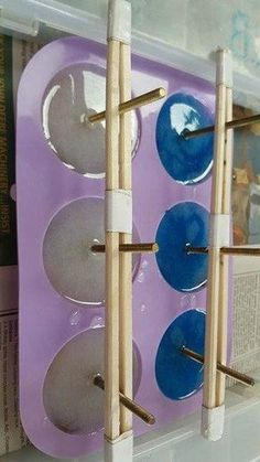 They can also be used for hooks. #howto #diy #diys #craft #crafts #crafting #howto #ad #handmade #homedecor #decor #makeover #makeovers #redo #repurpose #reuse #recycle #recycling #upcycle #upcycling #unique #resin #resincrafts #doorknobs