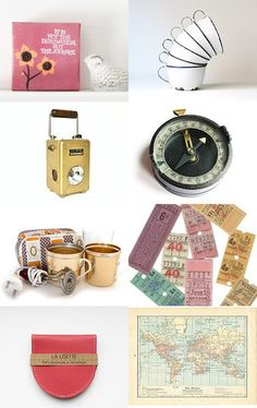 A vintage camping collection