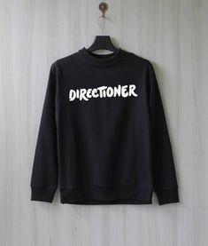 Directioner Sweatshirt Sweater Shirt-Größe XS S M L XL von SaBuy