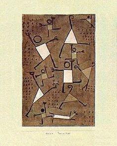 "Paul Klee ""danse sous l'emprise de la peur"" Bailar baixo a influencia do medo"