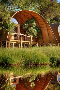 Camp Okuti, Moremi Game Reserve, Botswana
