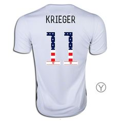 74662f548 2015 16 USA Home Ali Krieger Youth Jersey ( 11) Independence Day Jersey
