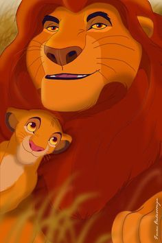 Mufasa & Simba - It's a Disney World.....Austin was my little boy......felt the same about him as Mufasa is shown to feel about Simba........