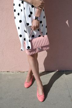 // Atlantic-Pacific Pink & Polka Dots Click through for full outfit details!