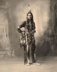 An old photograph of the Native American known as Pete Mitchell aka Dust Maker - Ponca Native American Images, Native American Beauty, Native American Tribes, Native American History, American Indians, American Art, American Quotes, American Symbols, American Life