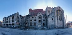 In Gary Indiana - the most abandoned place in the U. Gary Indiana, Creepy Houses, Abandoned Cities, Detroit, Street View, City, Cities, City Drawing