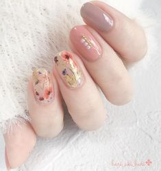 Korean Nail Art, Korean Nails, Simple Nail Art Designs, Nail Designs, Cute Nails, Pretty Nails, Lily Nails, How To Cut Nails, Kawaii Nails