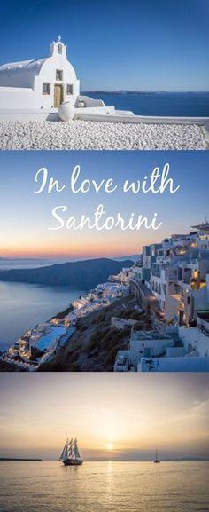 Travel Santorini Greece | Reise Santorini Griechenland. In love with Santorini. Was du auf dieser wunderschönen Insel alles machen kannst...