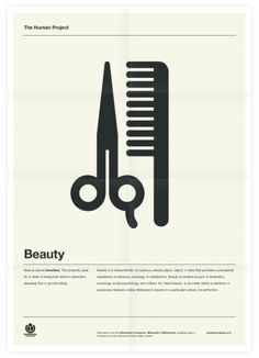 The Human Project (Beauty) Poster