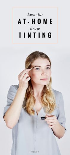 How to dye your own eyebrows at home