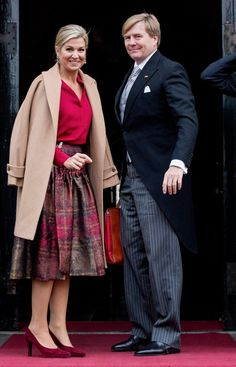 We Need to Talk About the Clueless-Inspired Tartan Skirt Queen Máxima Is Wearing