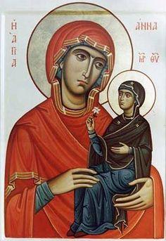 Анна мать Пресвятой Богородицы - Cerca con Google