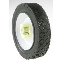 Maxpower 335160 6 inches x 1.50 Inches Steel Lawn Mower Wheel