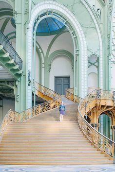 Grand palais paris-27 World Cities, Best Cities, Art Nouveau, Art Deco, Paris Travel, France Travel, Monuments, Beautiful Buildings, Beautiful Places