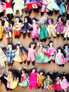 Bonecas de pano - Artesanato Nordestino - Brasil