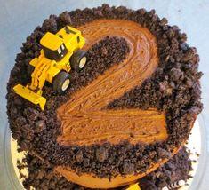 Resultado de imagen de tarta excavadora tractor