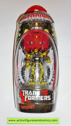 Transformers Titanium RATCHET movie 2007 MOC mip die cast 3 inch series