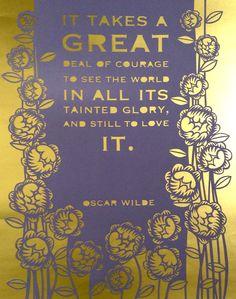 Oscar Wilde quote www.suowendesign.com