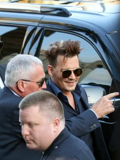Johnny Depp Photos - Johnny Depp is seen arriving to 'Alice Through The Looking Glass' premiere. - Celebrities Arrive to the 'Alice Through the Looking Glass' Premiere